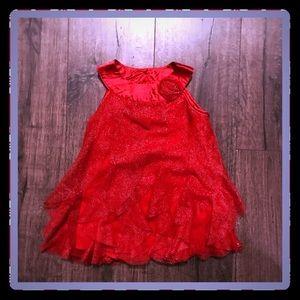 Little Girl's 24mo. Red Dress